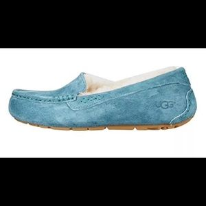 UGG Shoes - UGG ANSLEY Green (aqua) SLIPPERS Moccasins SZ 6, 7